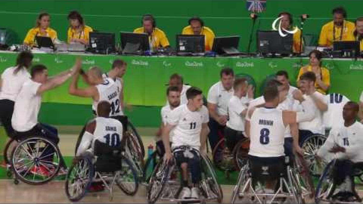 Wheelchair Basketball | GRB v TUR | Men's Bronze medal match | Rio 2016 Paralympic Games