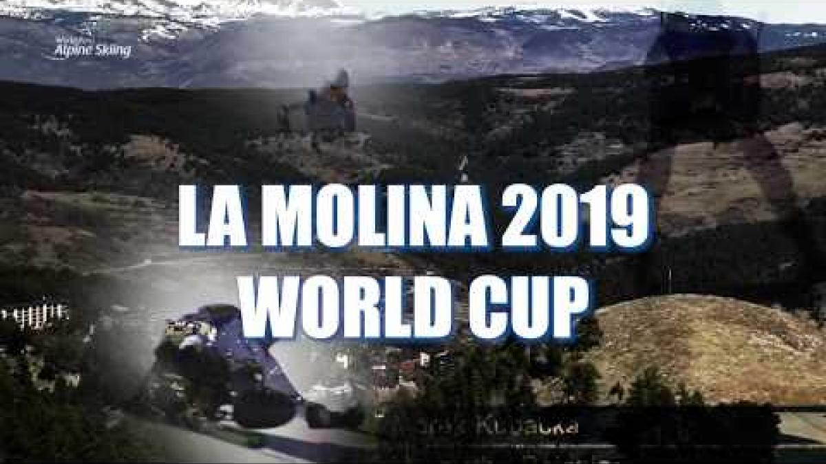 La Molina 2019 | Highlights | World Para Alpine Skiing