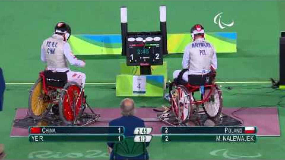 Wheelchair Fencing | China v Poland | Men's Foil Team Gold Medal Match | Rio 2016 Paralympic Games