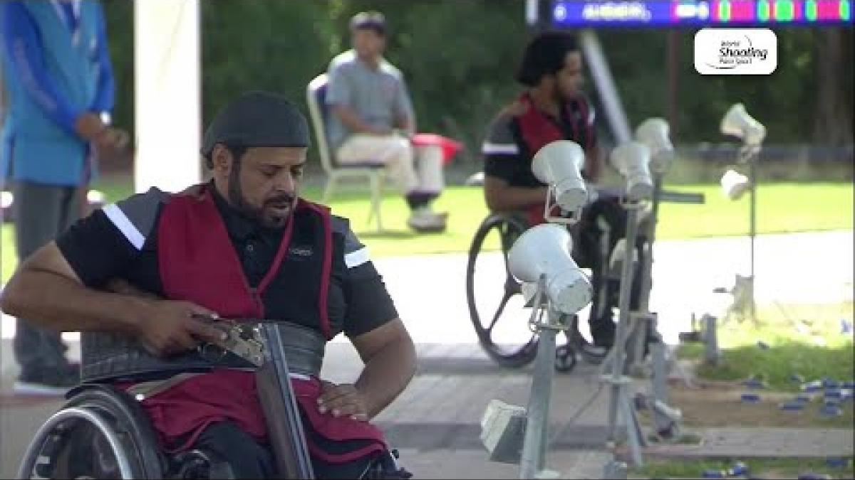 Saif Alhemeiri | Para Trap | World Shooting Para Sport World Cup | Al Ain 2019