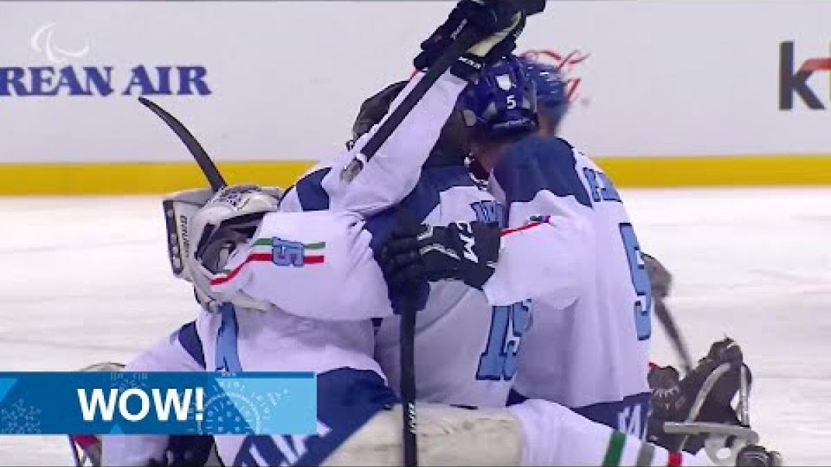 Italy win shootout v Norway