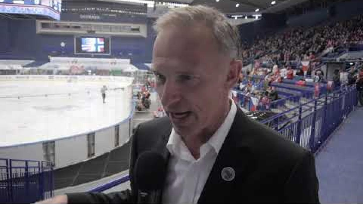 Dominik Hasek interview  | Ostrava 2019