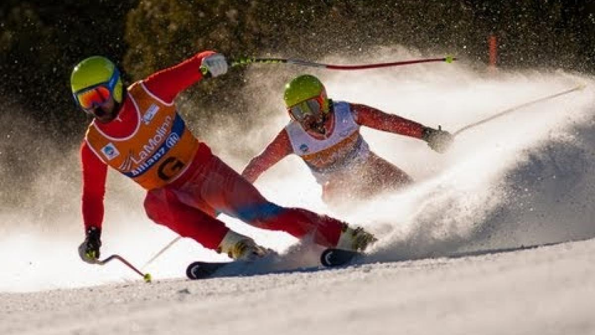Highlights from Day 1 of 2013 IPC Alpine Skiing World Championships La Molina