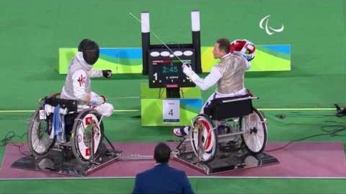 Wheelchair Fencing | France v HKG | Men's Team Foil - Bronze | Rio 2016 Paralympic Games