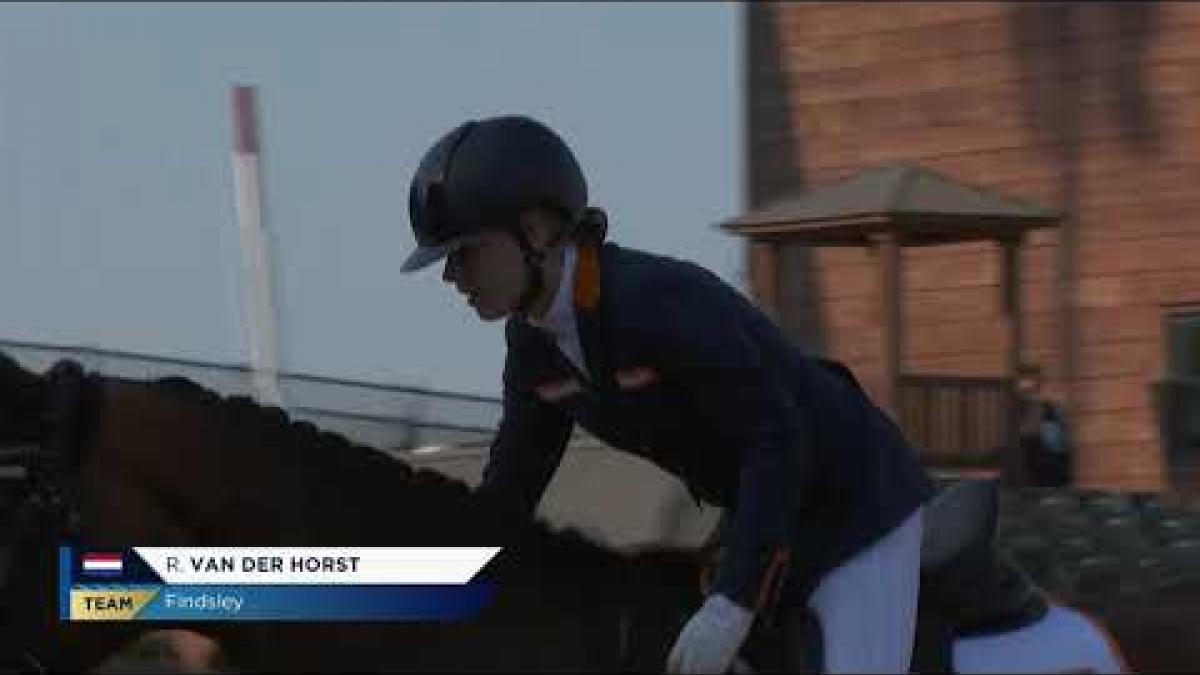 2018 World Equestrian Games - Team test highlights part II