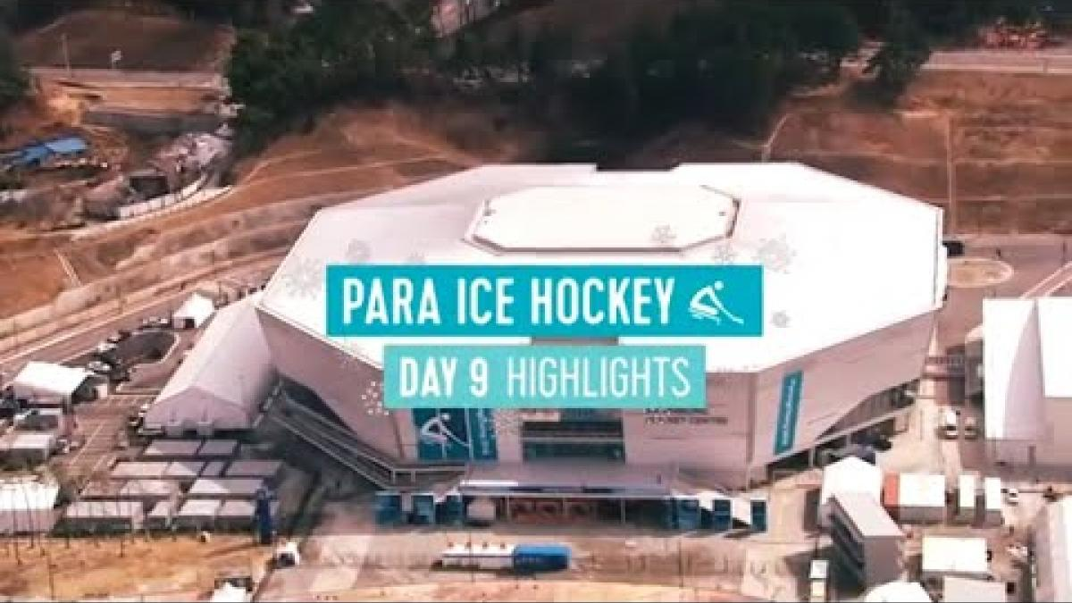 Day Nine Para Ice Hockey Highlights | PyeongChang 2018