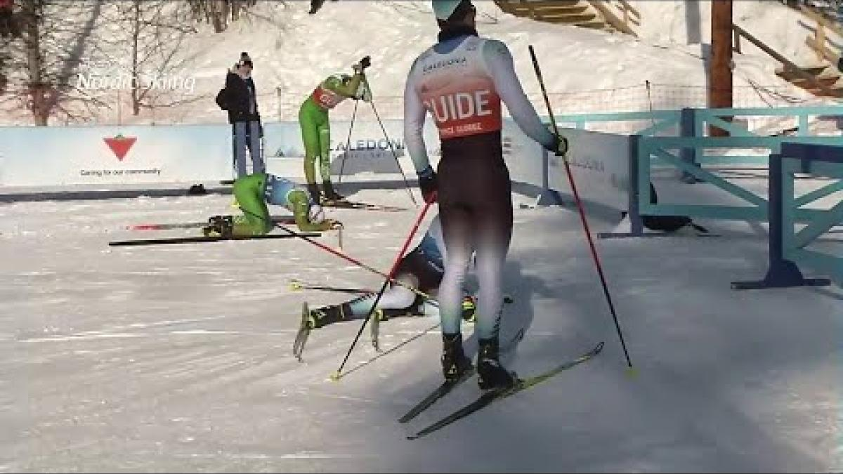 Yury Holub | Men's VI Middle Distance | World Para Nordic World Championships | Prince George 2019