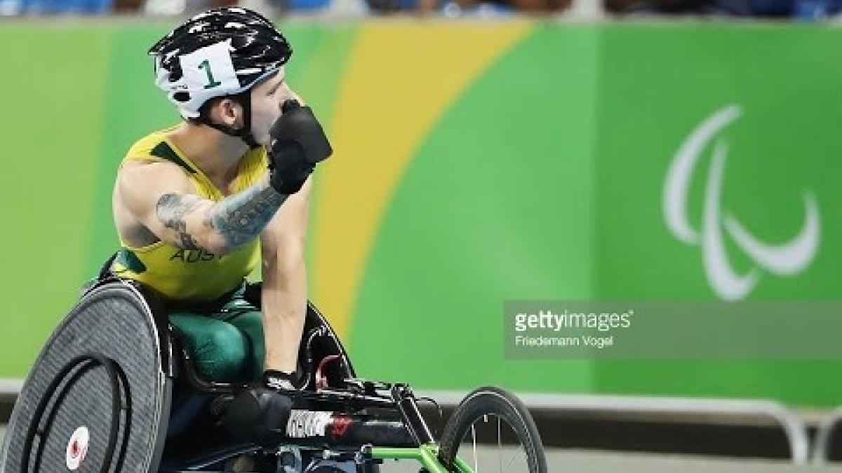 Athletics | Men's 800m - T34 Final | Rio 2016 Paralympic Games