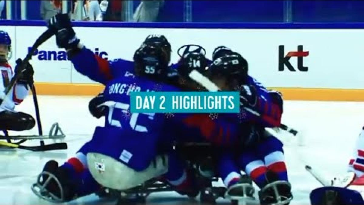 Day 2 Highlights | All the Action from PyeongChang 2018 Paralympic Winter Games