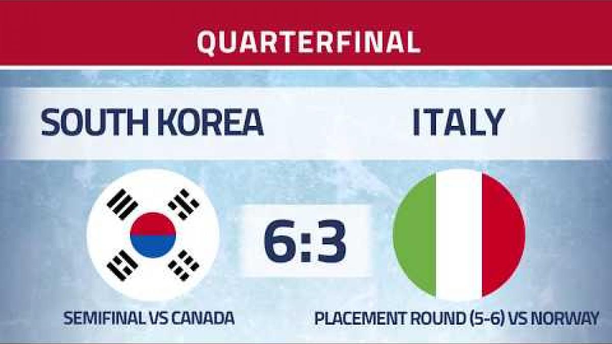 Quarter final  - KOR v ITA Highlights | Ostrava 2019