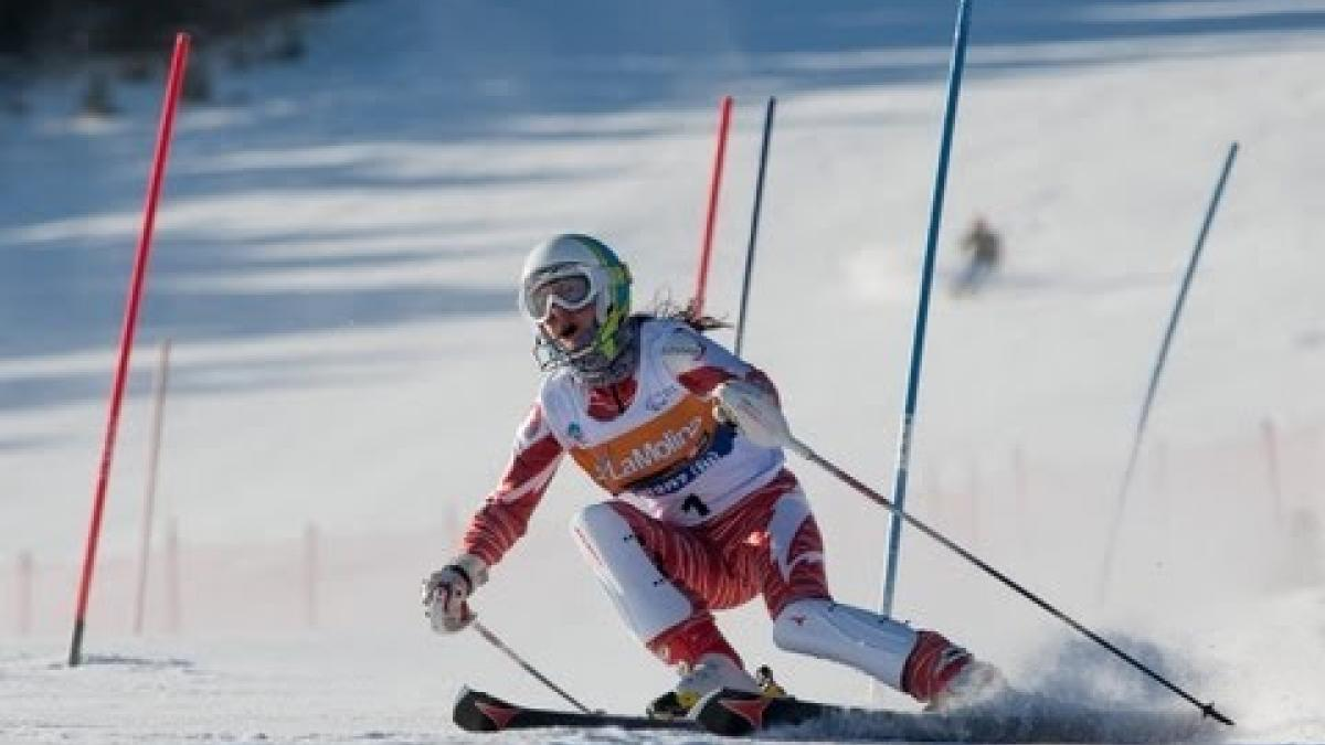 Highlights from day 3 (slalom) of 2013 IPC Alpine Skiing World Championships