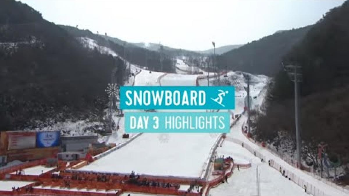 Day Three Snowboarding Highlights | PyeongChang 2018
