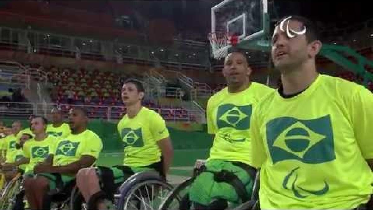 Wheelchair Basketball | Australia v Brazil | Men's 5 - 6 place game | Rio 2016 Paralympic Games