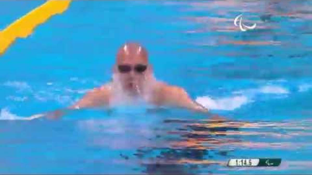 Swimming | Men's 200m IM SM14 final | Rio 2016 Paralympic Games