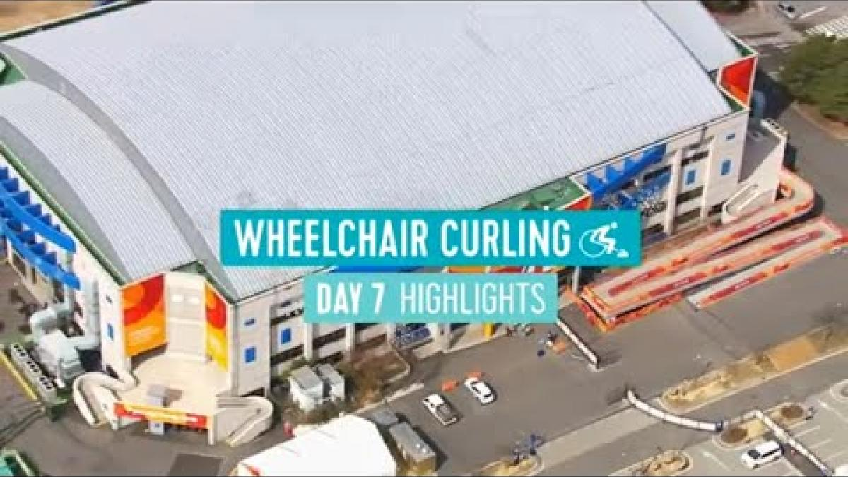 Day Seven Wheelchair Curling Highlights | PyeongChang 2018