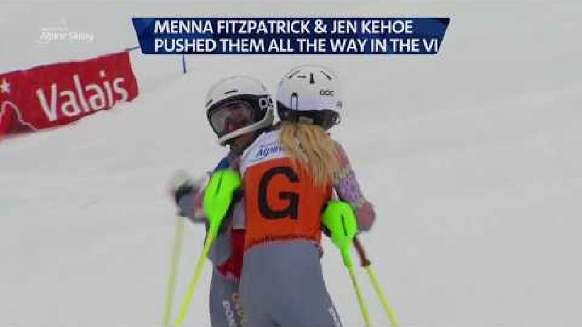 Day 4 highlights: 2018 World Para Alpine Skiing World Cup Veysonnaz