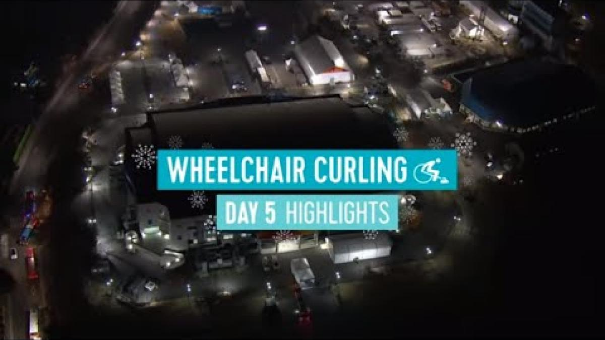 Day Five Wheelchair Curling Highlights | PyeongChang 2018