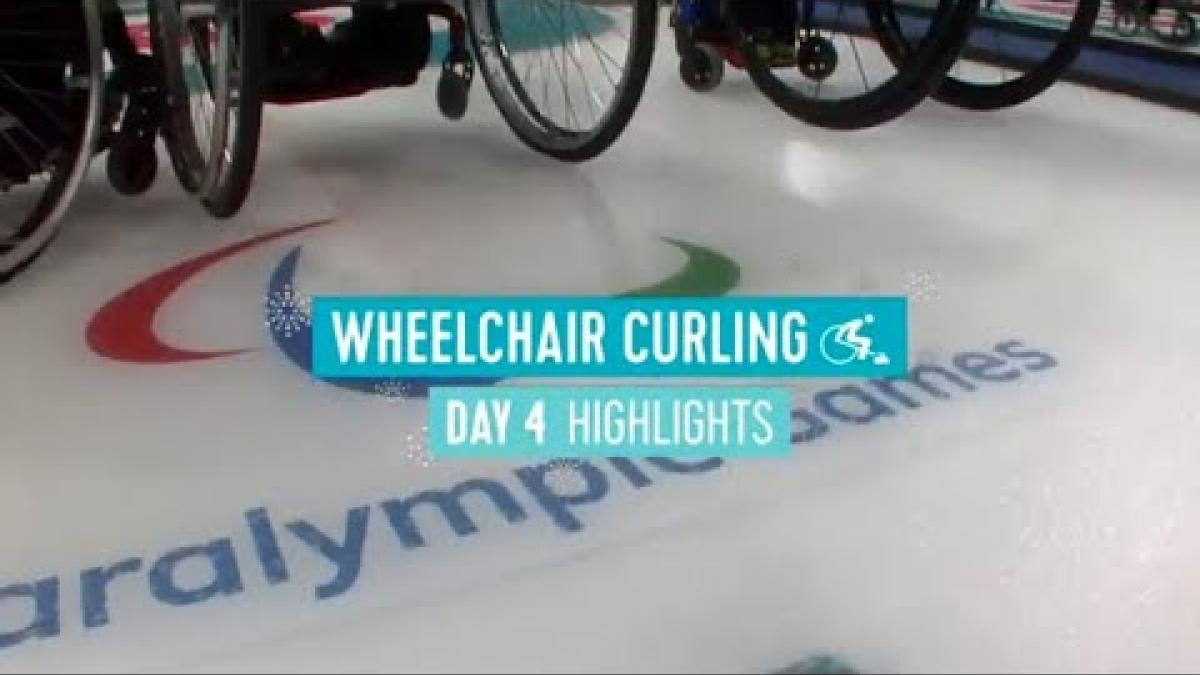 Day Four Wheelchair Curling Highlights | PyeongChang 2018